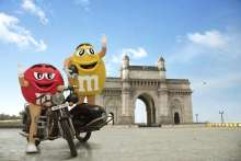 M&M's® make a Bollywood-style entry in India  Marking their presence, the Red and Yellow M&M's® are spotted at the iconic Gateway of India