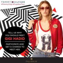 Palladium Mumbai #TogetherTour Contest - Participate, share & stand a chance to meet #GigiHadid  27th April 2017