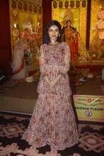 Actress Prachi Desai in Noura by Dipti Sawardekar