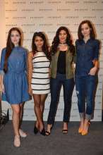 Promod hosted 'Denim Atelier' with Amyra Dastur and Bornali Talukdar