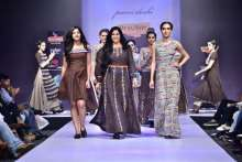 """Beauty and Beads"" By Purvi Doshi At the Bangalore Fashion Week W