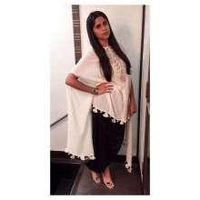 Gorgeous Actress Sai Tamhankar wearing Sonam Luthria and Masaya Jewellery