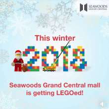 Seawoods Grand Central Mall and The LEGO® Group join hands to build India's longest LEGO® train