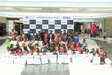 Seawoods Grand Central Mall and MAX Fashion make it a  'Happyness Wali Diwali' for Dehrang Village