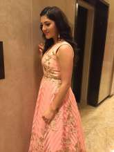 Mehreen Pirzada was spotted wearing Earrings by Shillpa Purii for SIIMA Awards