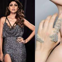 Gorgeous Shilpa Shetty wearing Reem Acra and Yoube Jewellery for HT Style Awards