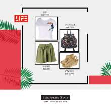 Channel the tropical vibe with these summer essentials from LIFE