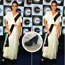 Stunning Actress Swara Bhaskar in Label De Belle creation & Stella Shoes