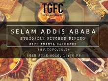 TGFC hosts home-cooked Ethiopian meal on Sunday 26th June 2016