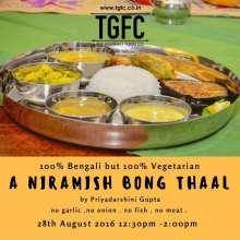TGFC Kitchen Dining - A Niramish Bong Thaal