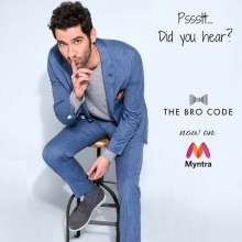 Your favourite men's fashion label - The Bro Code is now on Myntra!