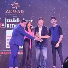Traworld Best Iconic Fashionable Luggage Brand Awarded at Mid-Day Retail Icon Awards 2019