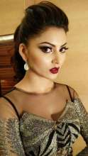 Bollywood Diva Urvashi Rautela in Neety Singh Jewellery for Asian Paints Royal Awards in Delhi